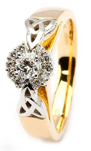 14K-Diamond-Cluster-Engagment-Ring