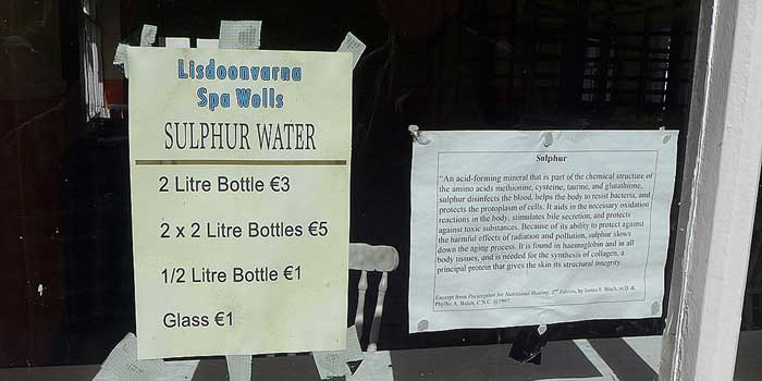 Sulphur Water