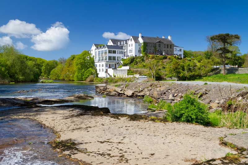 http://www.dreamstime.com/royalty-free-stock-photography-summer-scenery-river-ennistymon-image24865557