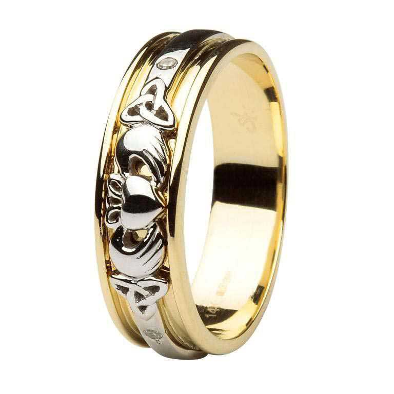 Claddagh Wedding Rings