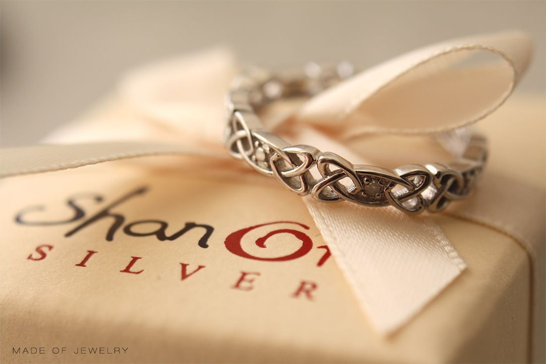 Celtic Jewelry Wrapped in love by Shanore Jewelry | Box