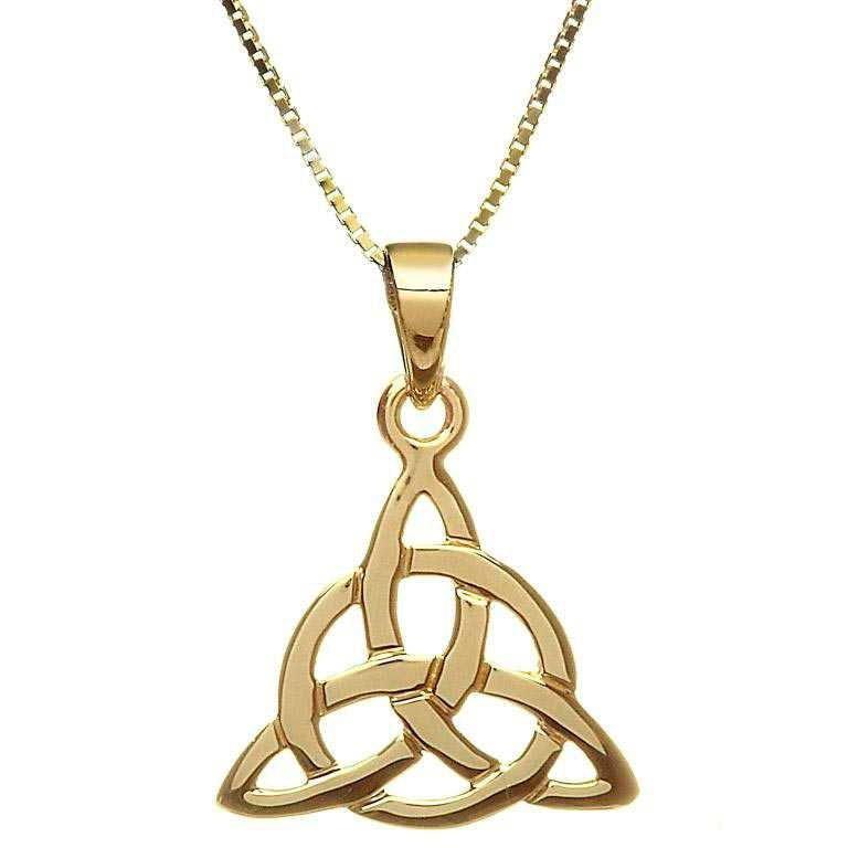10 Karat Gold Celtic Design Pendant 10P626