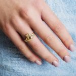 10K Ladies Gold Claddagh, Love, Loyalty, Friendship Ring - Gallery Thumbnail Image