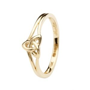 10K Gold Trinity Knot Ring 10L84