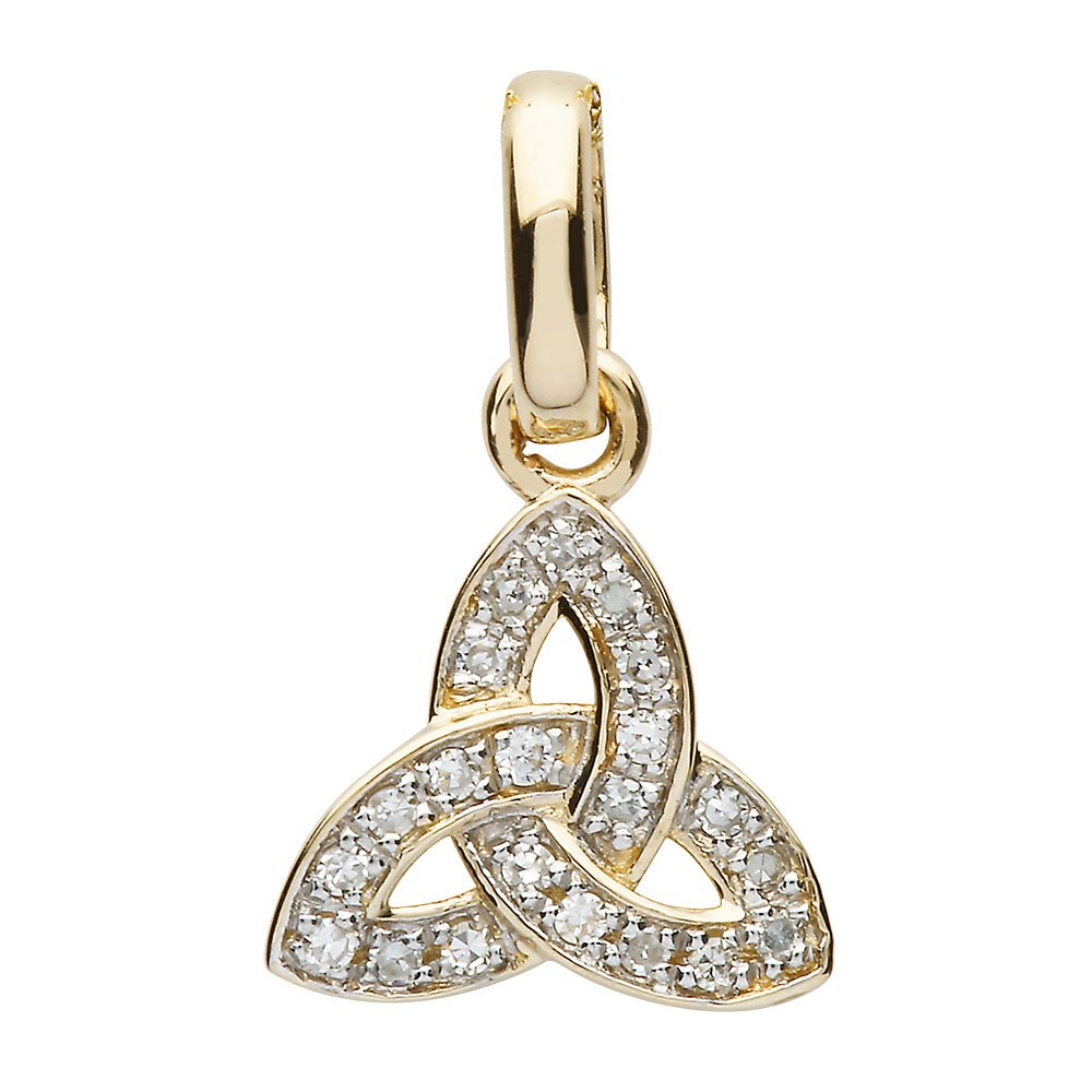 14K-Yellow-Gold-Small-Trinity-Knot-Pendant-with-Pave-Set-Diamonds
