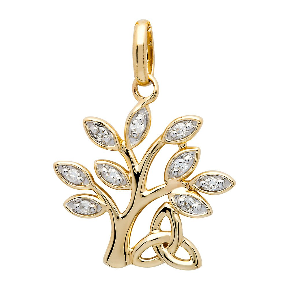 14K-Yellow-Gold-Tree-Of-Life-Diamond-Set-Pendant