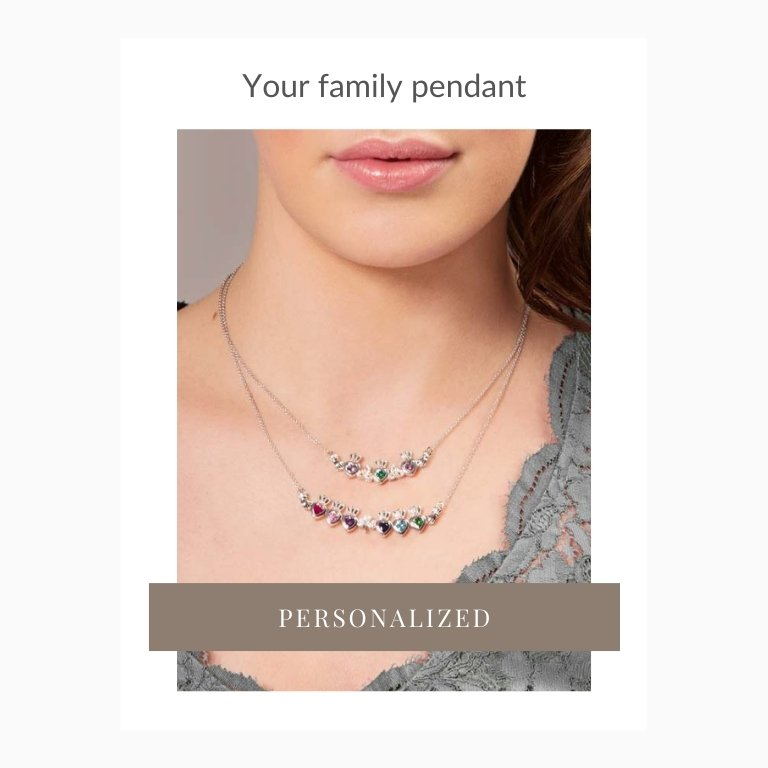 Personalised Mother's Pendant