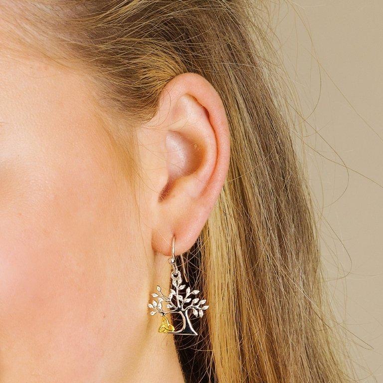 Tree of life Trinity Earrings