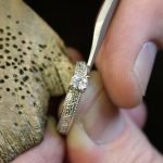Celtic Diamond Solitaire 14K White Gold Round Cut Engagement Ring Br1W Mount Only_3 - Gallery Thumbnail Image