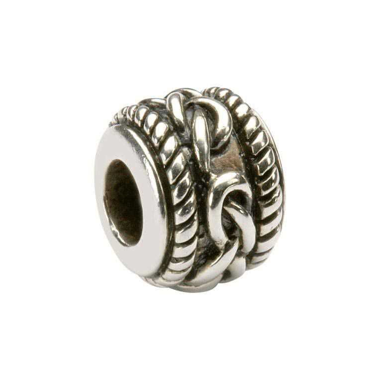 Celtic Silver Bead Td13