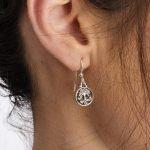 Celtic Silver Tree Of Life Earrings Se2226_2 - Gallery Thumbnail Image