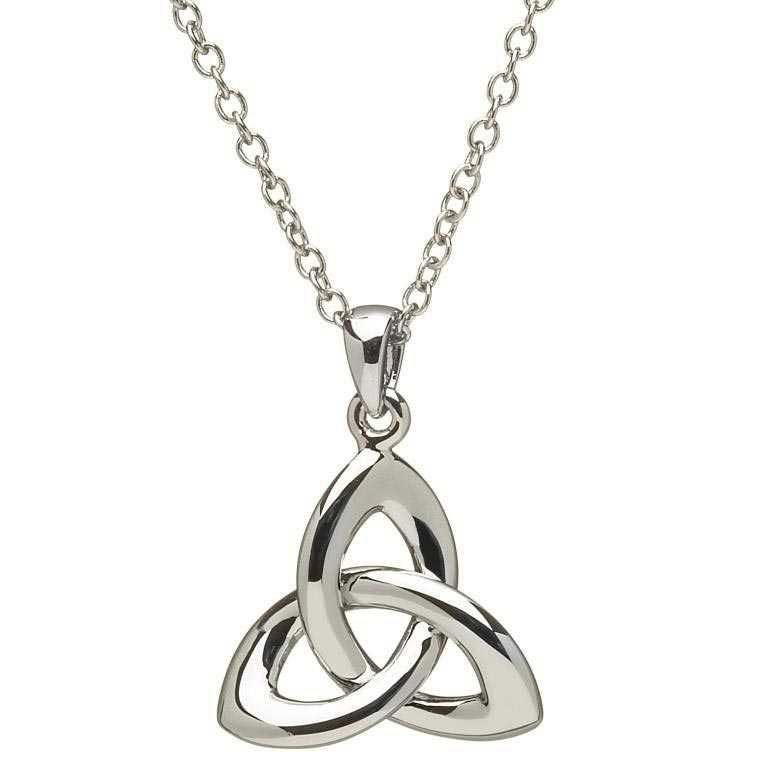 Celtic Trinity Knot Necklace Sp2033