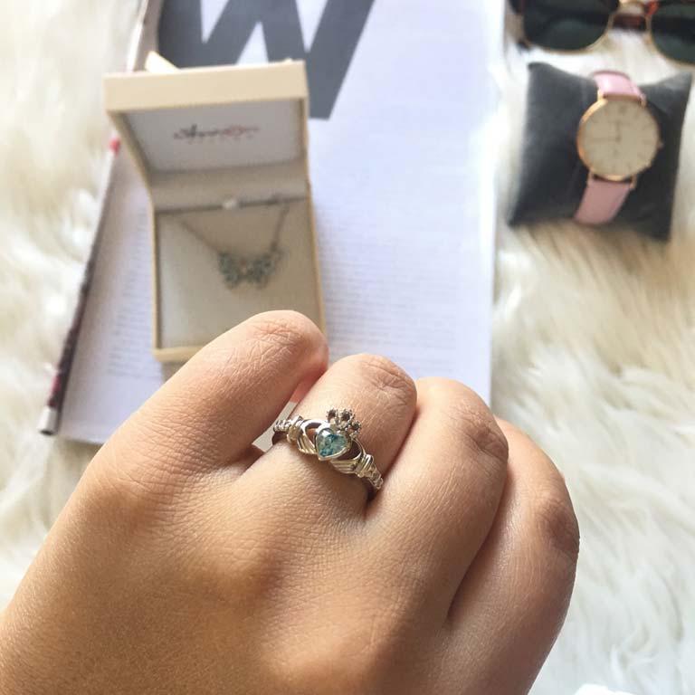 Claddagh Birthstone Ring December Sl90Bt_3