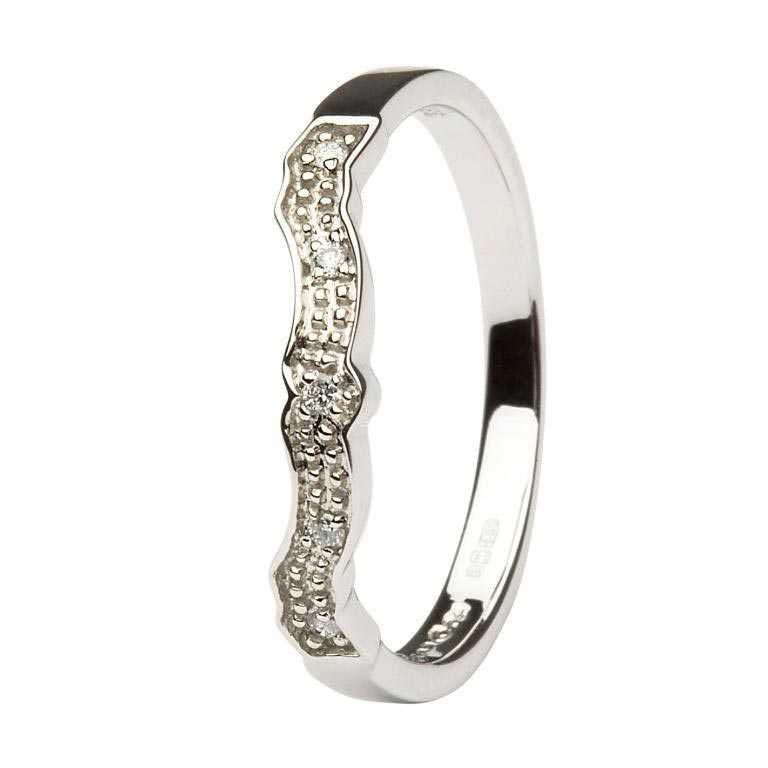 Diamond Set Matching Wedding Ring For 14L68 14L69W