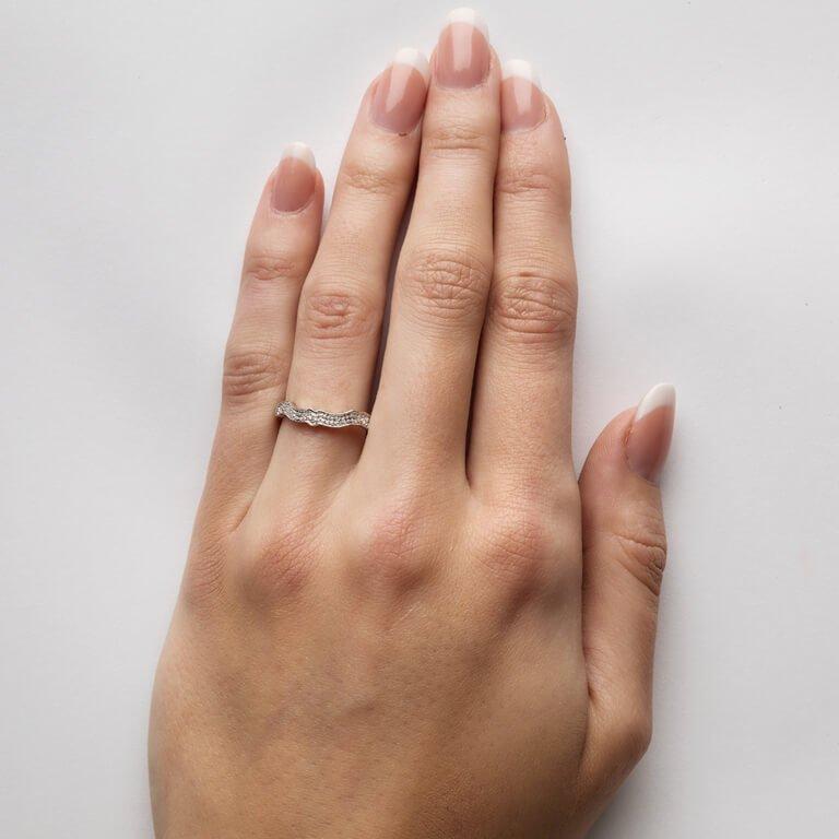 Diamond Set Matching Wedding Ring For 14L68 14L69W_2