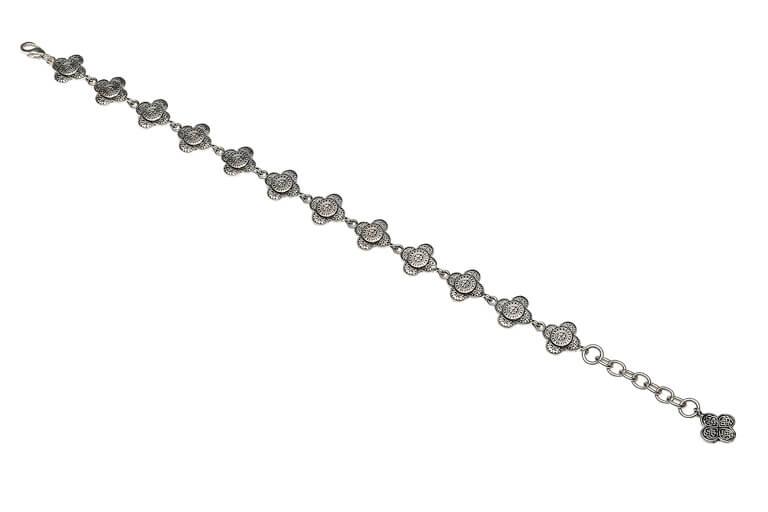 Silver Celtic Tribal Knot Bracelet Sb2216_2