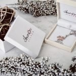 Silver Filigree Rose Gold Plated Shamrock Necklace Sp2084_2 - Gallery Thumbnail Image