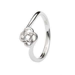 Sterling Silver Celtic Knot Ring Sl106