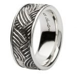 Sterling Silver Celtic Weave Ring Sd22 - Gallery Thumbnail Image