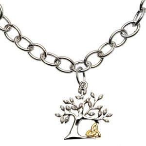 Tree Of Life Trinity Bracelet Sb2093Cz