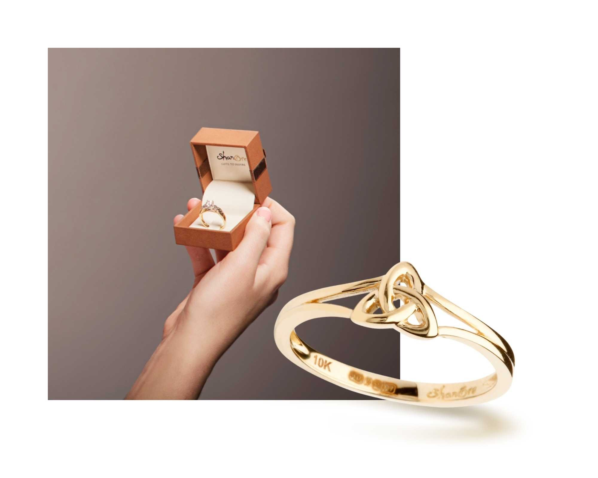 Celtic Jewelry Wrapped in love by Shanore Jewelry | Gold