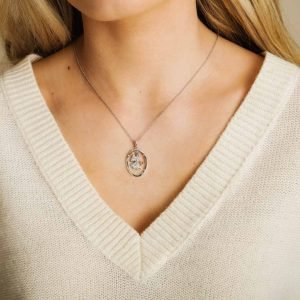 Guide Protect Hope Love Angel Trinity Pendant