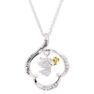 my guardian angel shamrock pendant