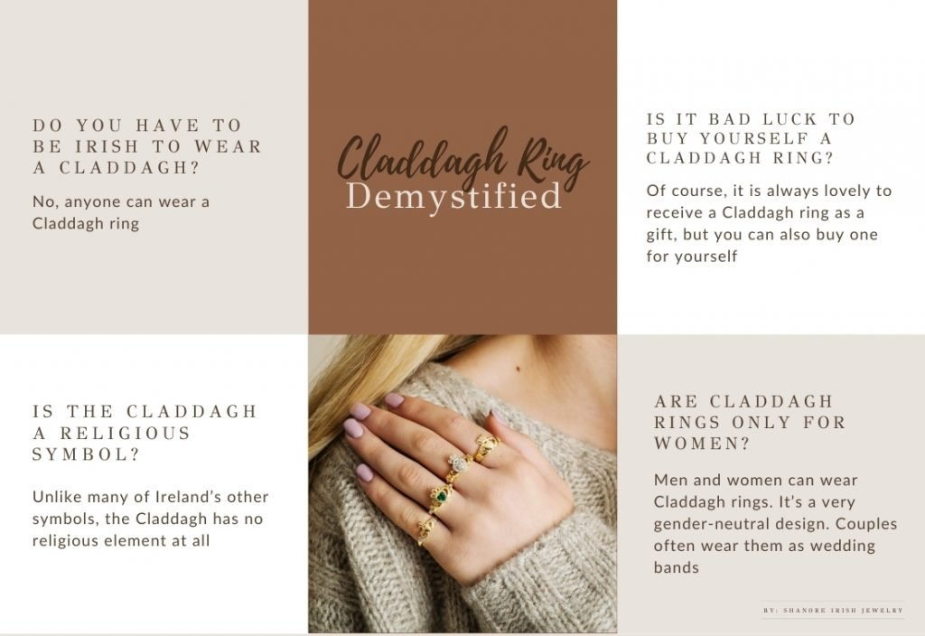 Claddagh Ring Myths and Frequently asked Questions