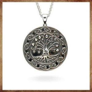 Silver_Tree_Of_Life_Trinity_Medallion_Necklace