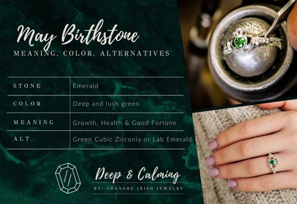 May Birthstone Meaning and Color