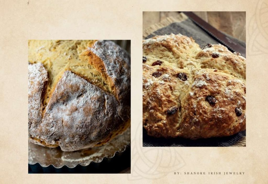 What is the history of the Irish soda bread