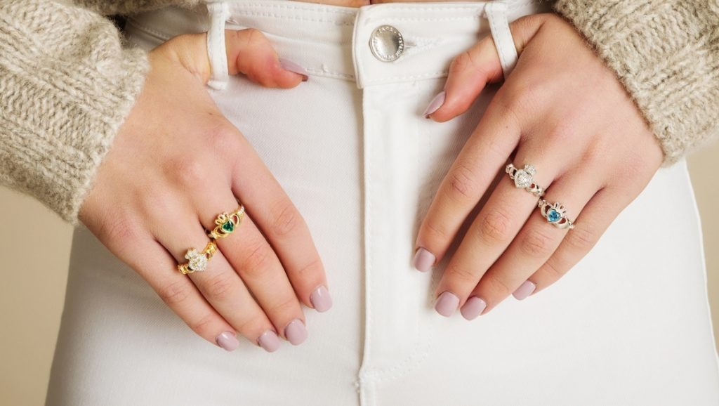 The most beautiful Claddagh Rings