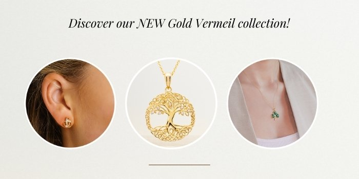 Gold Vermeil Celtic Jewelry - New ShanOre Collection