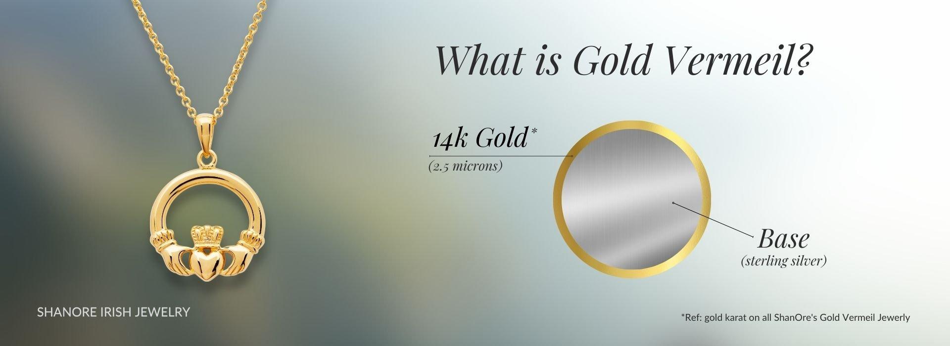 What is Gold Vermeil - ShanOre Irish Jewelry
