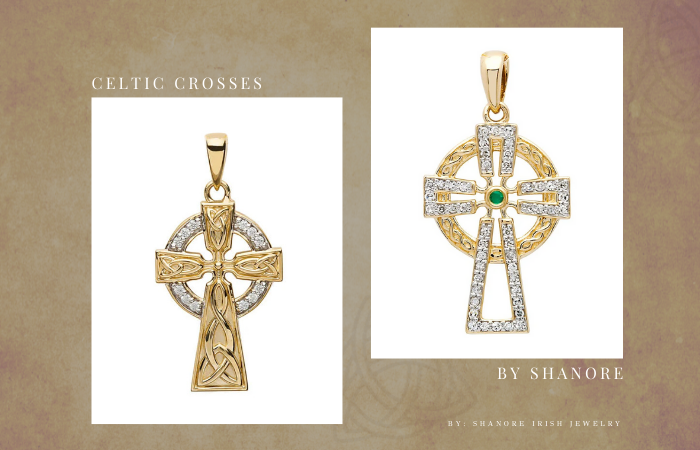 Celtic Crosses by ShanOre