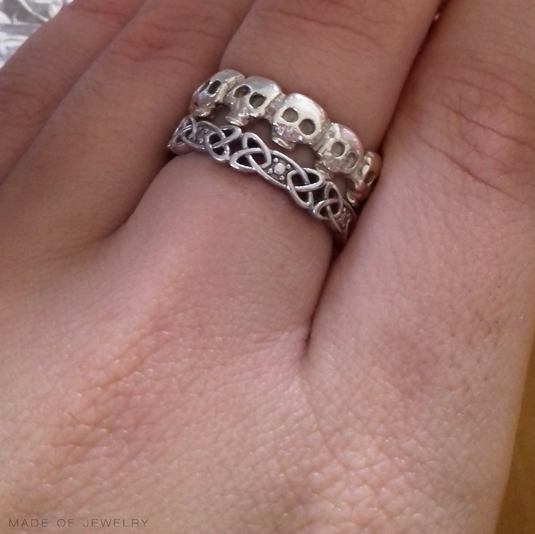 celtic-knot-ring-from-shanore-and-skull-ring