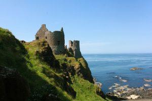 Dunluce Castle by Susan