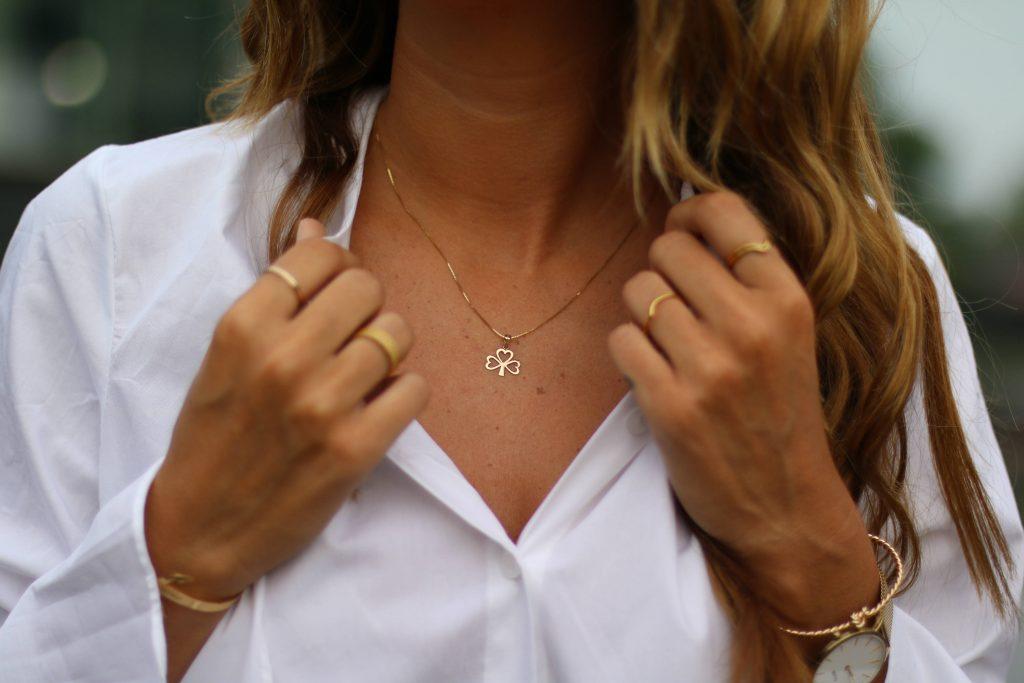 ShanOre Shamrock Necklaces