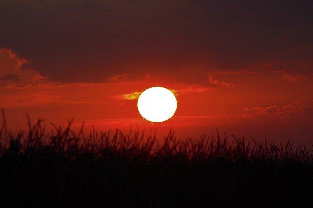 Irish sunset - Love and the Celtic New Year