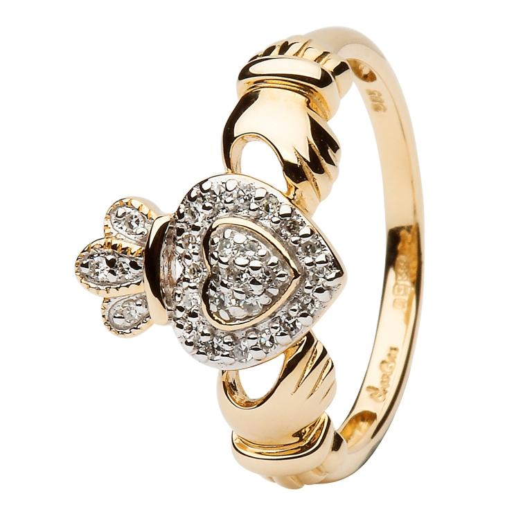 diamond-claddagh