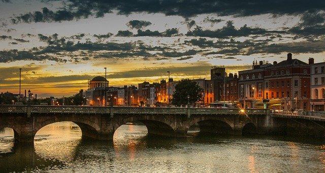 Dublin City in November
