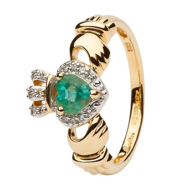 emerald-claddagh