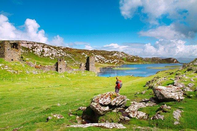 Irish whether in july