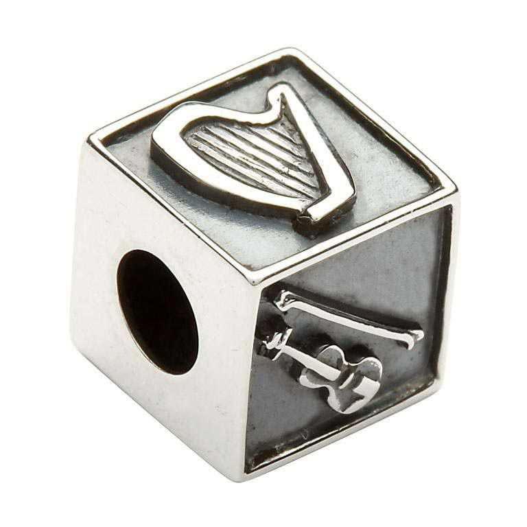 Irish Silver Music Bead